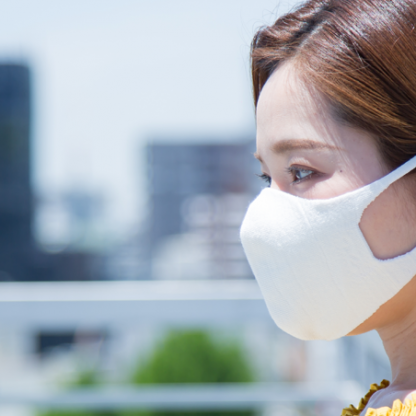 抗ウイルス性のあるマスク生地について